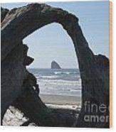 Cape Meares Framed Wood Print