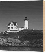 Cape Neddick Light Station Wood Print