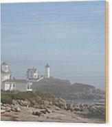Cape Neddick Lighthouse IIi Wood Print