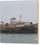 Cape Neddick - Nubble Light 2 Wood Print