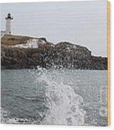Cape Neddick - Nubble Light 4 Wood Print