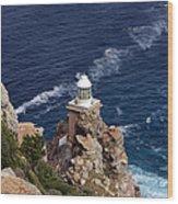 Cape Of Good Hope Lighthouse Wood Print