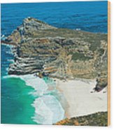 Cape Of Good Hope-south Africa Wood Print