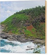 Cape Of Makapili  Wood Print