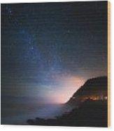 Cape Perpetua Celestial Skies Wood Print