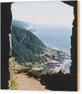 Cape Perpetua Wood Print