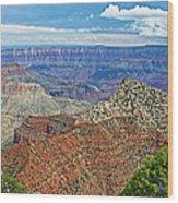 Cape Royal Two On North Rim Of Grand Canyon-arizona Wood Print