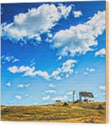 Cape Spear National Historic Park Wood Print