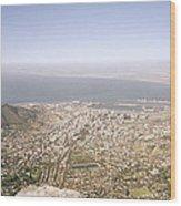 Cape Town Panoramic Wood Print