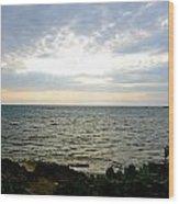 Cape Zampa Sunset Wood Print