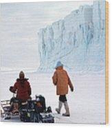 Capeevans-antarctica-g.punt-2 Wood Print