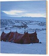 Capeevanshut-antarctica-g.punt-9 Wood Print