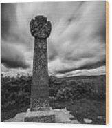 Capel Gwladys Mono Wood Print