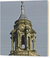 Capital Dome Spindle Top Wood Print