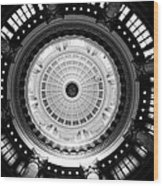 Capitol Dome Wood Print