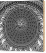 Capitol Dome - Wisconsin Wood Print