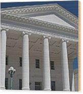 Capitol Pillars - Richmond Wood Print