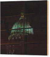 Capitol Reflections Wood Print