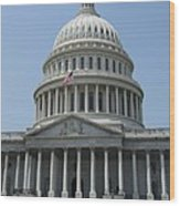 Capitol Washington Dc Wood Print