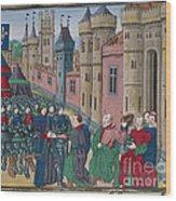 Capitulation Of Bordeaux Wood Print