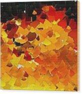 Capixart Abstract 108 Wood Print