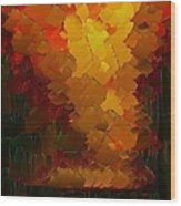 Capixart Abstract 72 Wood Print by Chris Axford
