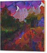 Capixart Abstract 75 Wood Print