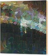 Capixart Abstract 77 Wood Print by Chris Axford