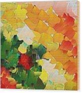 Capixart Abstract 81 Wood Print