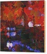 Capixart Abstract 89 Wood Print