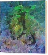 Capixart Abstract 95 Wood Print by Chris Axford