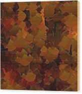 Capixart Abstract 98 Wood Print