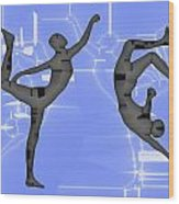 Capoeira 2 Wood Print