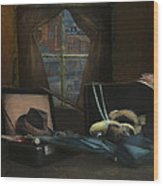 Capone - Revised Wood Print