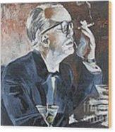 Capote By Hoffman Wood Print