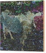 Capricorn Abstract Wood Print
