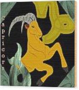Capricorn Wood Print