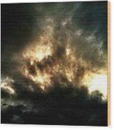 Captain Cloud Wood Print