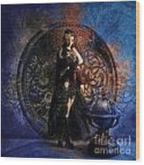 Captain Persephone II Wood Print