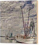 Captain Phillips Wood Print by Benanne Stiens
