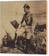 Captain Thomas, Aide-de-camp To General Bosquet Wood Print