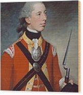 Captain Thomas Hewitt, 10th Regiment Wood Print by William Tate