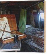 Captain's Quarters Aboard The Mayflower Wood Print