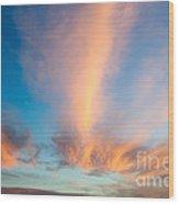Captivating Clouds Wood Print