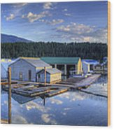 Bayview Marina 2 Wood Print