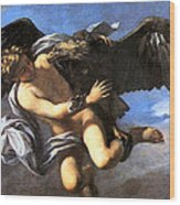 Capture Of Ganymede Wood Print