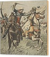 Capture Of Samory By Lieutenant Wood Print