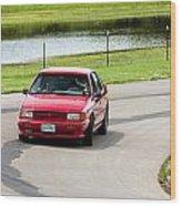 Car No. 34 - 04 Wood Print