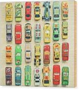 Car Park Wood Print