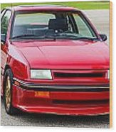 Car Show 032 Wood Print